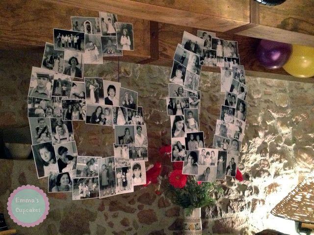 Emma's Cupcakes: Fiesta de 60 Cumpleaños / 60th birthday party   Uno de nuestros planes para celebrar los 60 años. http://www.boxvot.es/Rankings/Plan-para-celebrar-los-60-anos-de-la-suegra