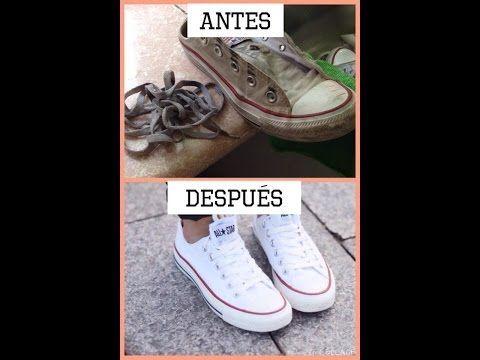 Aplicar limpiar Disponible  Como lavar tus zapatillas Converse blancas y dejarlas como nuevas - El Cómo  de las Cosa… | Zapatillas converse blancas, Como limpiar zapatillas, Lavar  tenis blancos