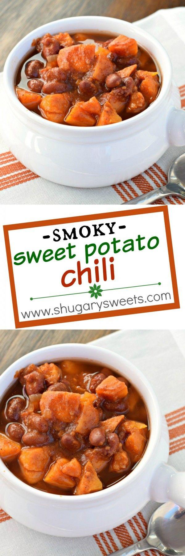 ... Chili on Pinterest | Sweet potato soup, Crock pot chili and Ground