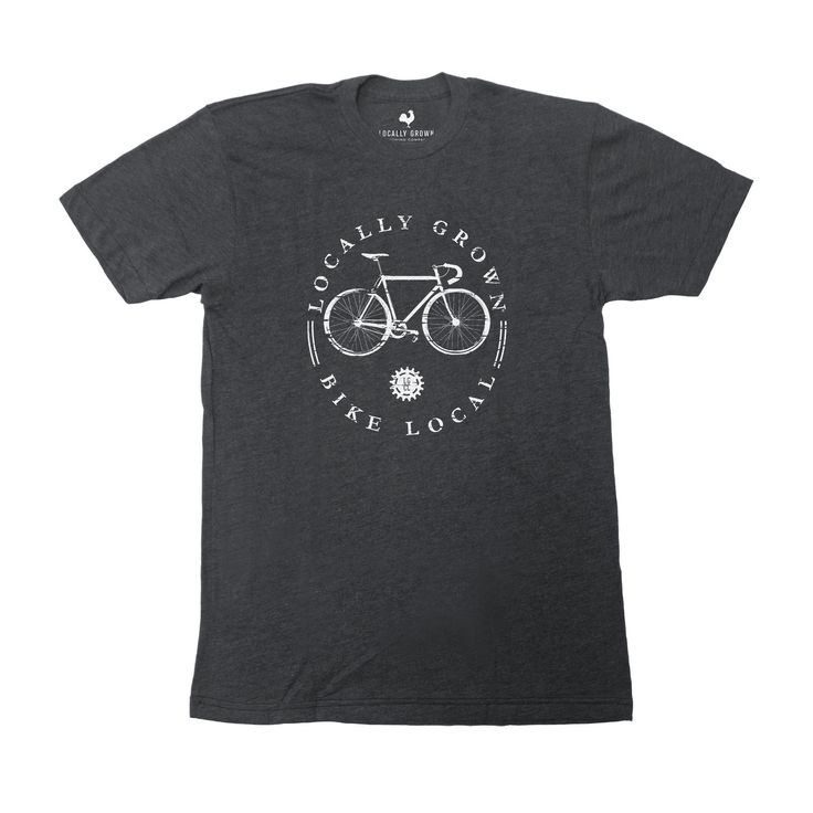 Bike Local Tee #locallygrown #bikelocal