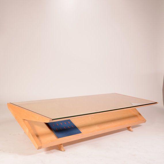 Mid-Century Coffee Cocktail Table by John Keal for Brown and
