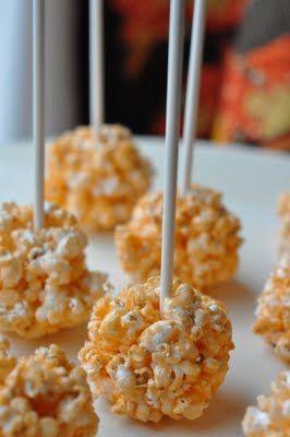 Jello Popcorn Balls