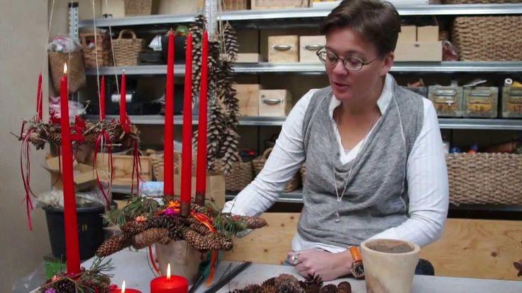 Lav en juledekoration med Elisabeth Bønløkke