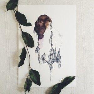 """Lámina Dona A4.Colección """"Orgánica"""".Edición limitada y numerada firmada por Marina Guiu.Impresión sobre papel digital de conquistador de 300gr.Medida A4 (21x 29,7 cm).También disponible en tamaño A3.Para más información:espacio-store@hotmail.com"""