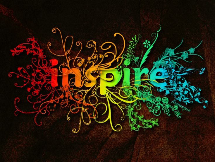 Inspire wallpaper by firetongue8.deviantart.com -- very cool! thanks @Cosette Paneque for sharing this image on your blog :)