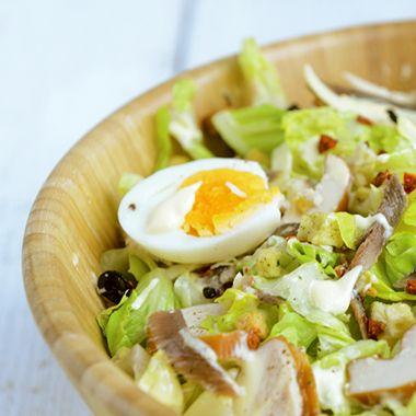 Snelle Caesar salade