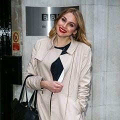 BBC Apprentice 2016 Winner Alana Spencer seen leaving BBC Radio Two Studios