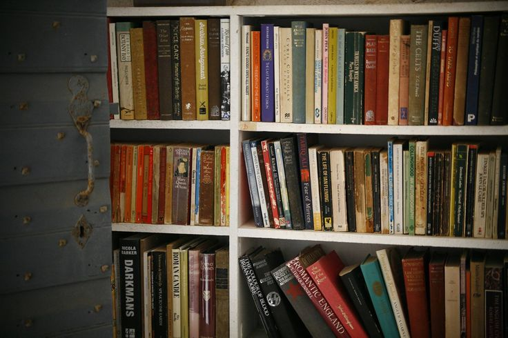 Just a part of Patric Leigh's Fermor book collection in his house in beautiful Kardamili #Mani #Peloponnese where he lived many years of his adventurous life  We were very fortunate to visit his house during #Greecephotoworkshops there in April