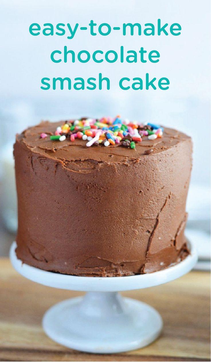 Baby s first birthday chocolate cake recipe