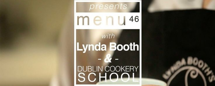 menu46 with Lynda Booth and Dublin Cookery School Upside Down Pear and Ginger Cake Recipe