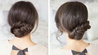 Fishtail updue- luxy hair