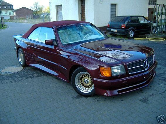 Mercedes 500 sec koenig