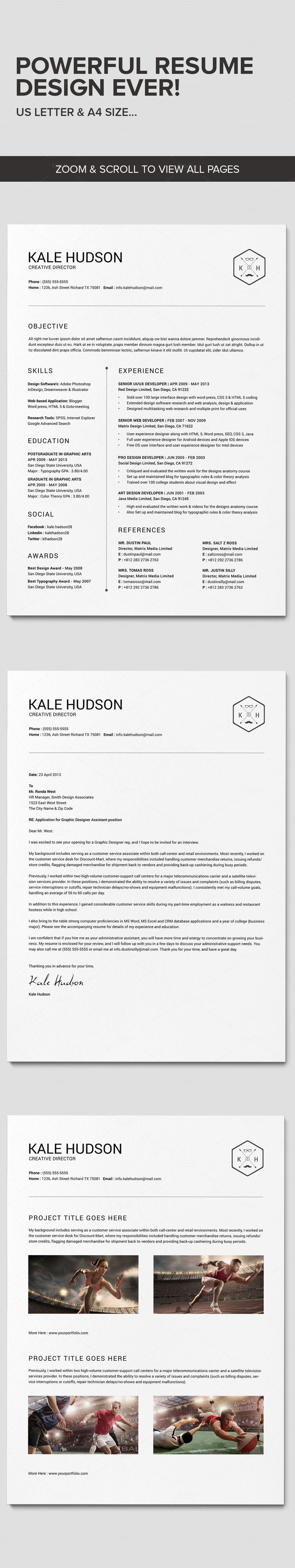25  best ideas about professional resume design on