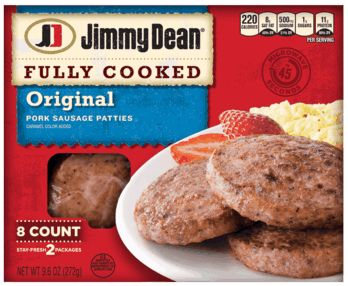 Jimmy Dean® Fully Cooked Sausage