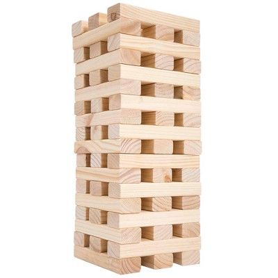 Hey! Play! Giant Wooden Stacking Game,