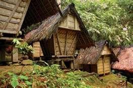 Rumah Suku Badui...