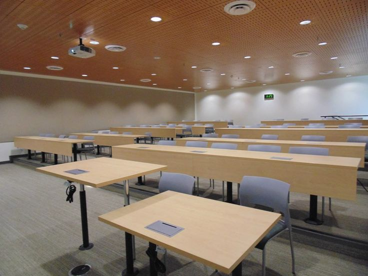 A view of one of the classrooms inside the mesa college