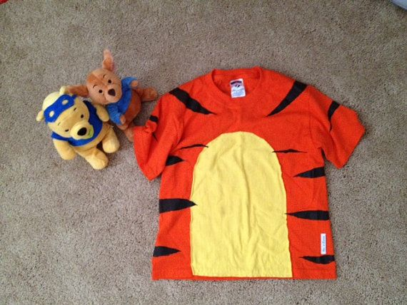 tigger costume t shirt by VicsLove on Etsy, $21.99