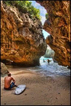 Suluban beaches...