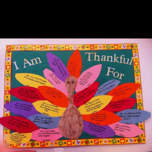 Thanksgiving Bulletin Board.