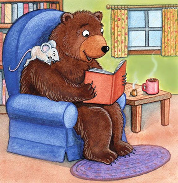 Mouse and Bear Can Read by Janet McDonnell