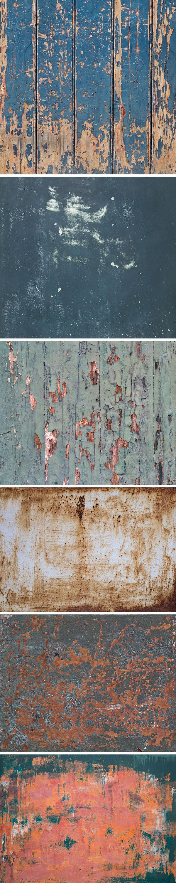I'm happy to share a new collection of weathered textures, perfect to use in various projects for a vintage look...