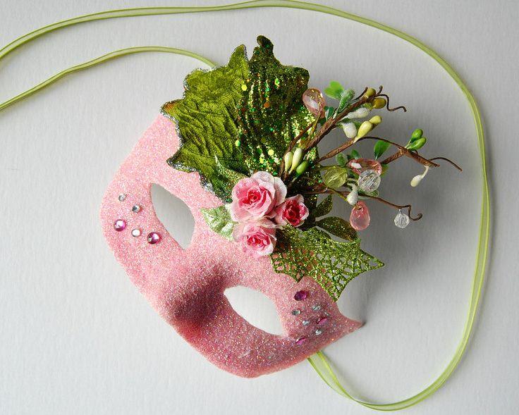 mask rose princess masquerade mask mardi gras ballroom fairy venetian halloween. Black Bedroom Furniture Sets. Home Design Ideas