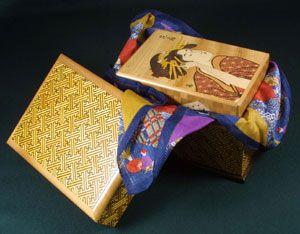 A beautiful example of a 119 step Japanese Puzzle Box by Yoshio Okiyama!