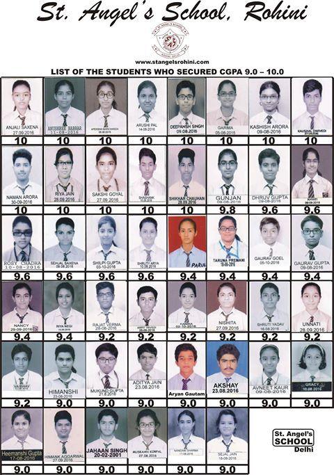 CBSE Result in Rohini Delhi - 10th Class result of St. Angels  #CBSEResultinRohiniDelhi #BestSchoolinRohiniDelhi #BestSchoolinDelhi #CBSESchoolinrohiniDelhi #PlaySchoolinRohiniDelhi  #PrimarySchoolinrohinidelhi #Prepschoolinrohinidelhi  http://www.stangelsrohini.com/SrWing/