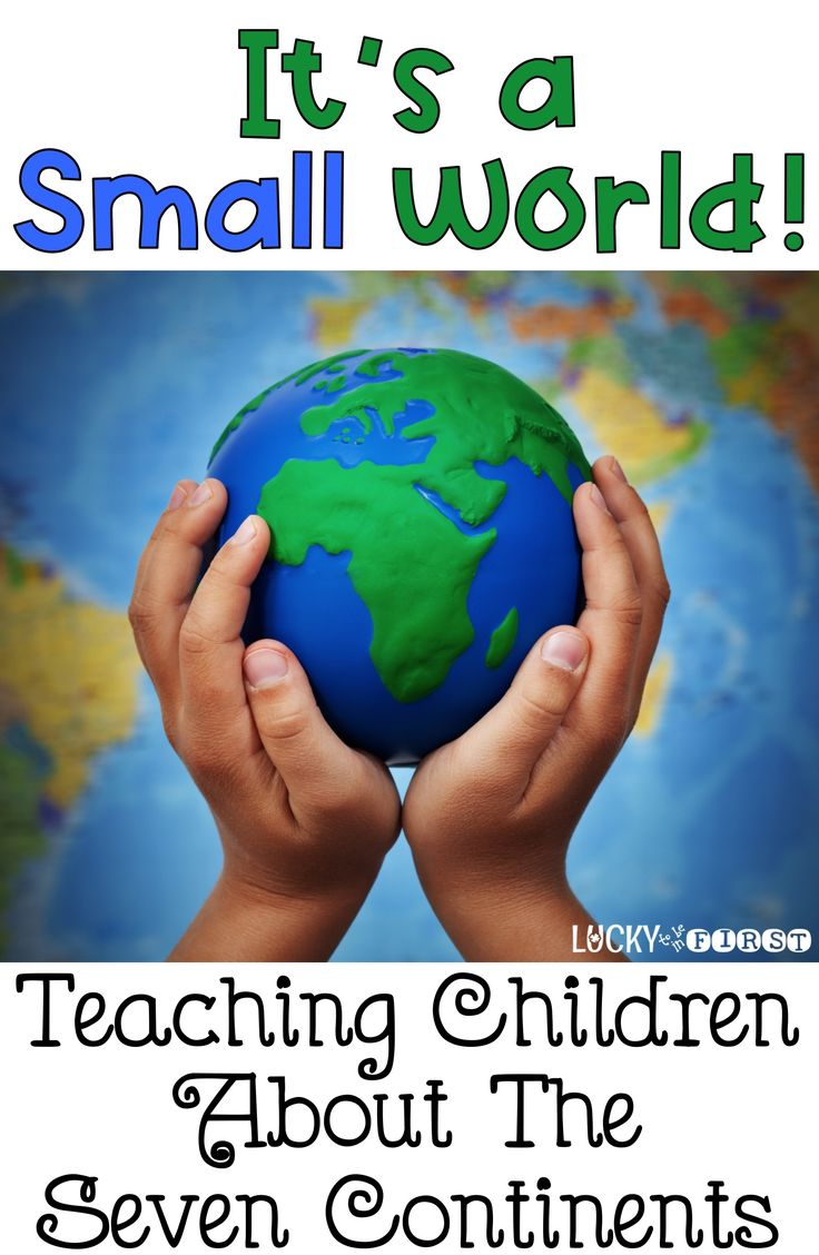 Teach your students about the 7 Continents with these activities, projects & games! via @mbuckets