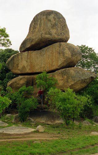 Balancing rocks, Zimbabwe. BelAfrique your personal travel planner - www.BelAfrique.com
