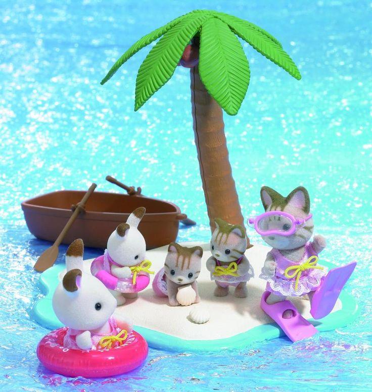 Η οικογένεια Striped Cat και η οικογένεια Chocolate Rabbit κάνουν πολύ καλή παρέα.