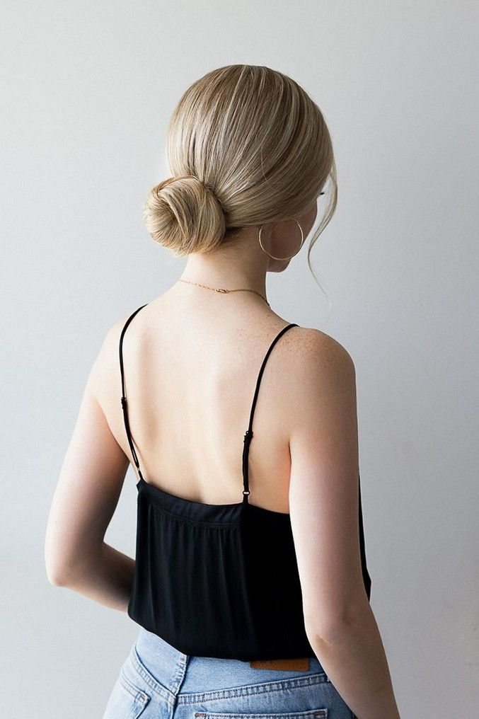 40 Popular Updos For Medium Length Hair In 2020 Low Bun Hairstyles Tutorial Short Hair Bun Low Bun Hairstyles