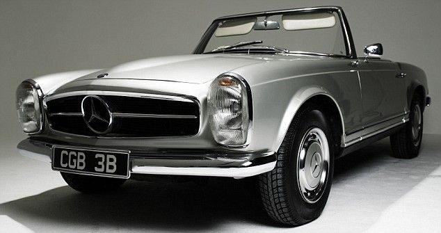 Mercedes-Benz 230SL Pagoda.  Production, 1963–1971. Stunning