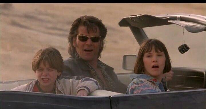 Brian Bonsall, Patrick Swayze and Sabrina Lloyd in Father Hood
