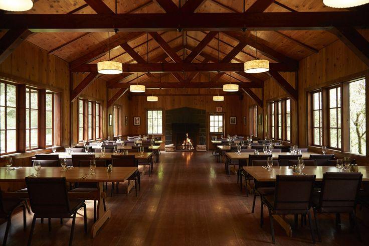 Silver Falls Lodge Big Leaf Dining Hall Amazing Indoor