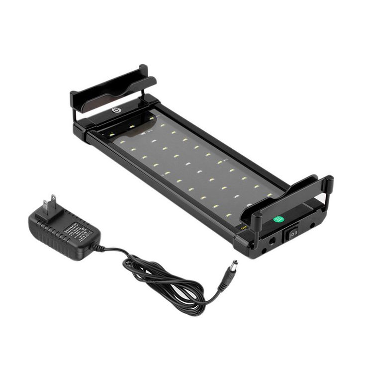 ICOCO Waterproof Underwater Aquarium Fish Tank Fishbowl Lighting SMD 6W 28 CM LED Light Lamp Submersible LED Light Bar