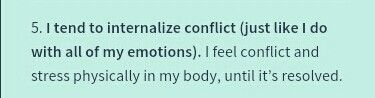 Confession 5 INFJ I HAVE HURT FOR SO VERY VERY LONG THIS SITUATION NEEDS RESOLVING