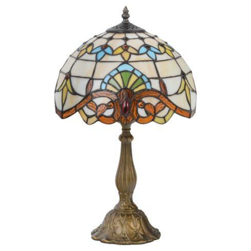 Lámpara Mesa Tiffany Café E27 60W