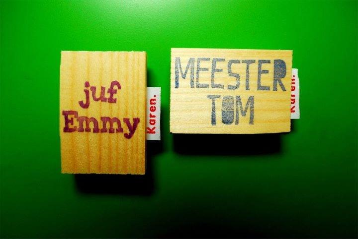 #namestamp #naamstempel #voordejuf #cadeautje #cadeauvoordejuf #present #jufEmmy #meesterTom #juf #teacher