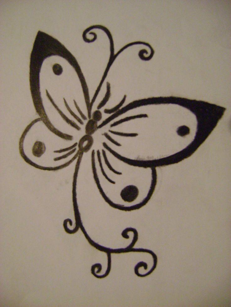 Henna Tattoo Butterfly: Pinterest