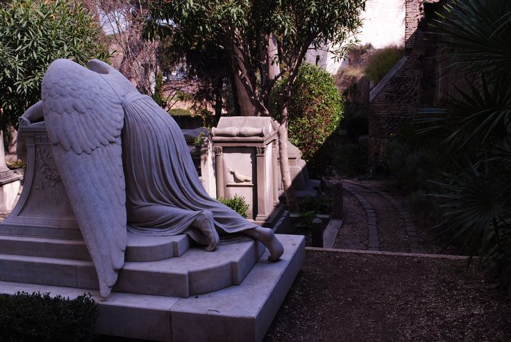 Th Angel of Grief -  Emelyn Eldredge Story (1820 - 1895); Rome