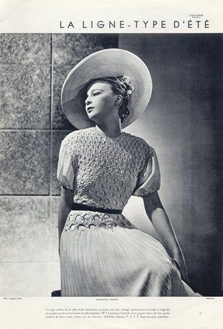 model vintage Dora ward