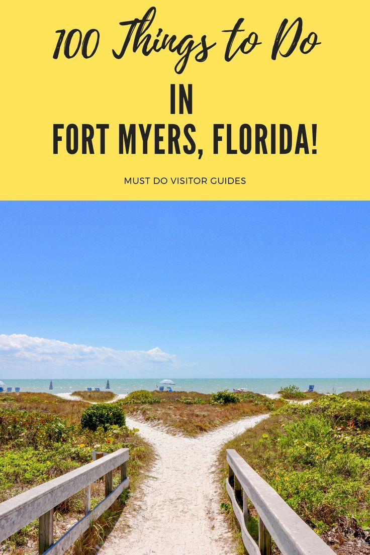 Fun Things To Do In Fort Myers Florida In 2020 With Images