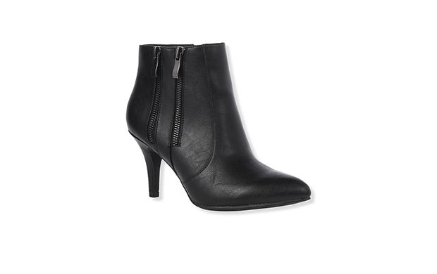"Heeled Ankle Boot. ""These chic ankle boots are the perfect choice forthose who want to enjoy heels but avoid the pain."""