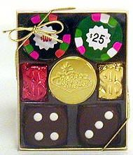 Chocolate Casino Gift Box - Small Size