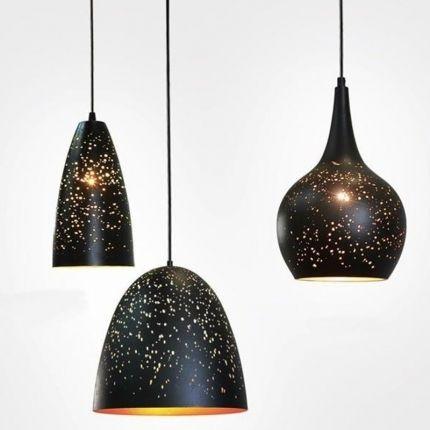 Závěsné světlo Cosmos 14 cm, černá - 2