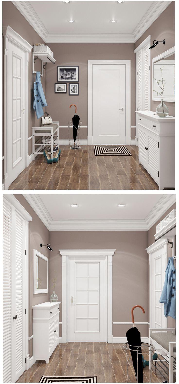 Hallway. Прихожая в Американском стиле