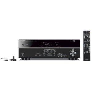 Yamaha RX-V375 AV-Receiver (5,1-Kanal, 100 Watt pro Kanal, Dolby TrueHD, HDMI, USB) schwarz: Amazon.de: Heimkino, TV & Video