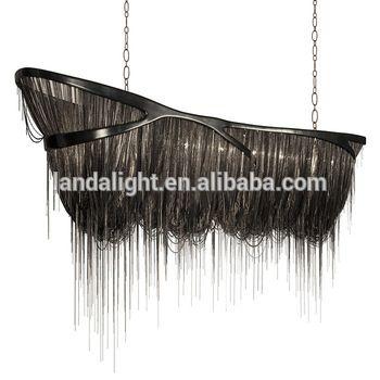 Modern North European Black Color Decorative Chandelier Chains